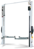 Dviejų kolonų elektro-hidraulinis simetrinis keltuvas SPO55E-GR, 5.5t, elektrinis valdymas iš abiejų pusių, keltuvo aukštis 4170mm