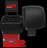 Naujos balansavimo staklės su pilnai automatiniu duomenų įvedimu, pneumatiniu prispaudimu ir staklės iškarto pirmo sukimo metu nustato kur reikia klijuoti ar kalti vieną svarelį disbalansui ir vibracijai panaikinti ER90 SE EVO