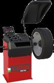 Automatinės ratų balansavimo staklės ER10 PRO su elektromagnetiniu stabdžiu ir virtualiu sonaru skardinių ratlankių pločiui nustatyti