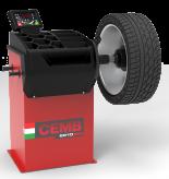Automatinės vietą taupančios balansavimo staklės ER10 su virtualiu sonaru skardinių ratlankių pločiui nustatyti