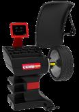 Formulės 1 balansavimo staklės ER80SE su pneumatiniu rato prispaudimu ir automatiniu sonaru skirtu rato pločiui nustatyti