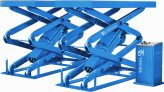 SCC35 high rise scissor lift, in ground version