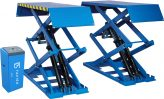 SCV30 high rise scissor lift, on ground version