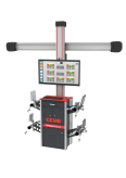 3D technologijos ratų geometrijos reguliavimo stendas CEMB DWA3500 su meniu lietuvių kalba